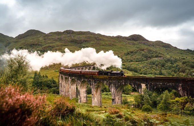 The Jacobite - Glenfinnan Viaduct