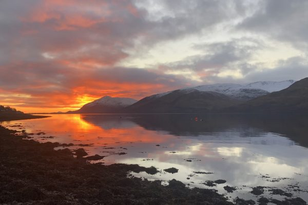 Loch Linnhe Sunset